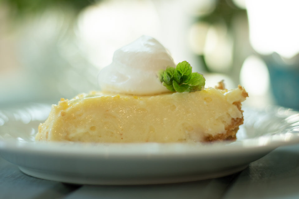 Creamy Lemon Ice Box Pie