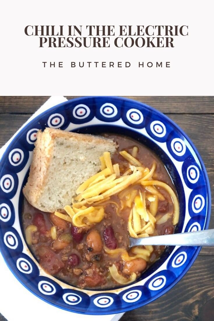 This wonderful Instant Pot Chili will give you all of the comfort and warmth that you are looking for and in half the time. Thanks to the wonderful Electric Pressure Cooker!! #chili #instantpotchili #comfortfood