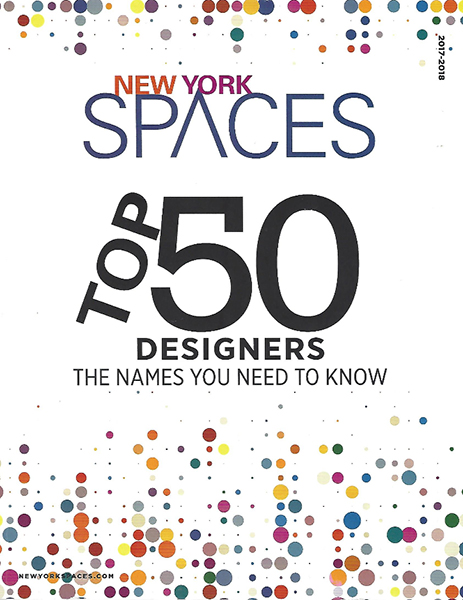 New York Spaces - Top 50 Designers 2017-2018
