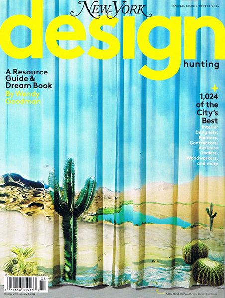New York Magazine - Design Hunting, October 2013