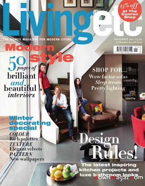 Living Etc - November 2011
