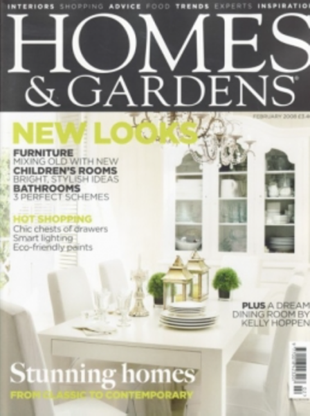 Homes and Gardens - February 2008