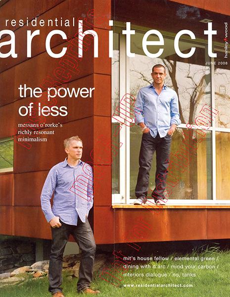 Residential Architect - June 2008