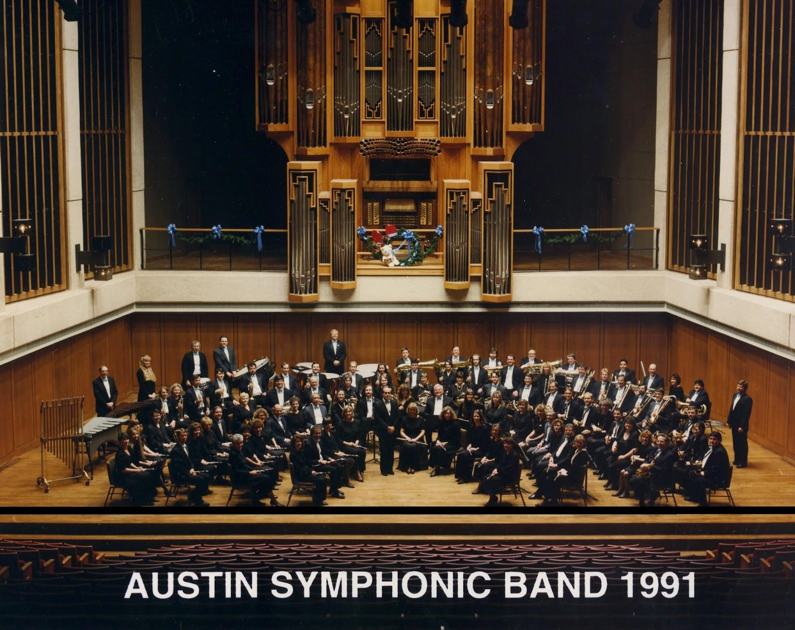 Blue Santa Concert in Bates Recital Hall, November 24, 1991.