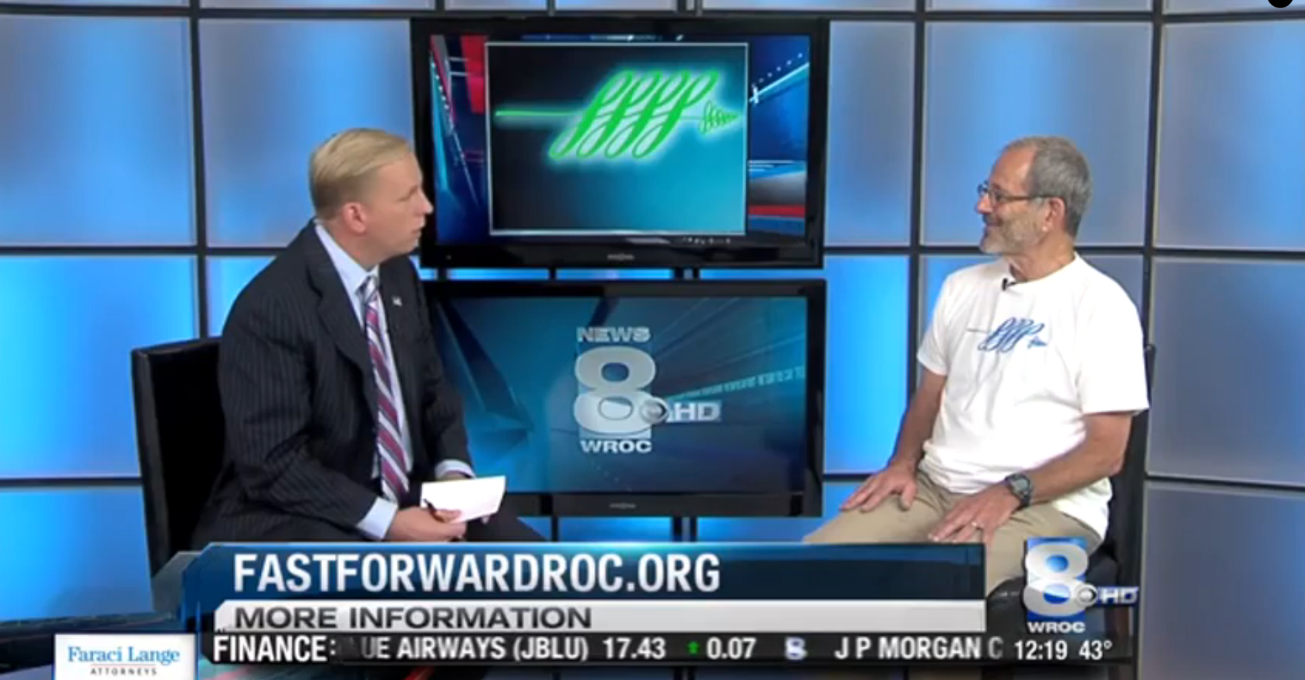 Andy Stern Talks Submission Process with Mark Gruba,  News 8