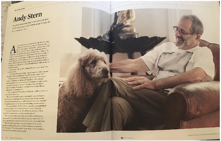 Andy Stern,  Post Magazine, Issue 20
