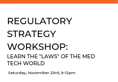In this workshop, NEMIC will work with you to define your Med Tech products classification and create a framework to better understand your specific FDA submission requirements.   If you do not have a product, cases studies will be available.