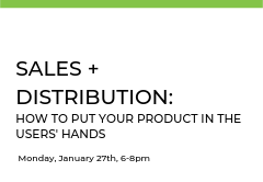 In this class, participants will learn where they fit in a complex buying environment, how to build sales teams and distribution channels, and how to maximize value with key opinion leaders.
