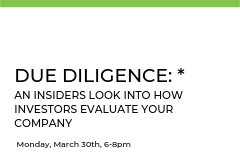 Gain exposure to the Angel and Venture Capital due diligence process from real and experienced investors who know the ins-and-outs of this thorough practice.