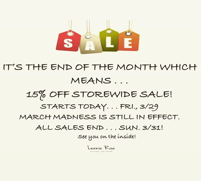 A little spring cleaning SALE for us . . . A huge gain for your closet! 🛍