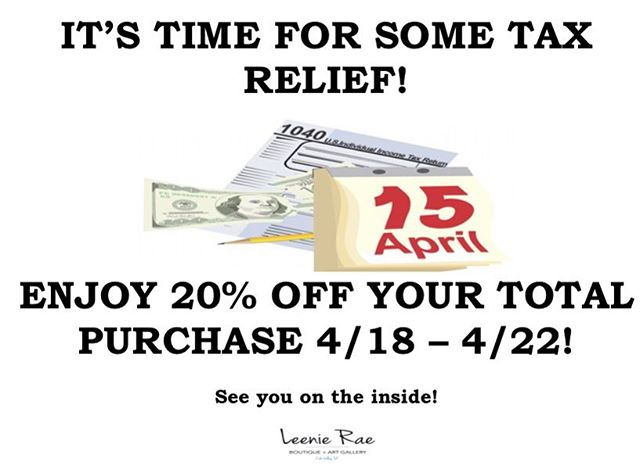 We've got your after tax savings... Enjoy!