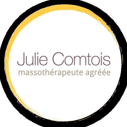 Logo Julie Comtois Massothérapeute Agréée