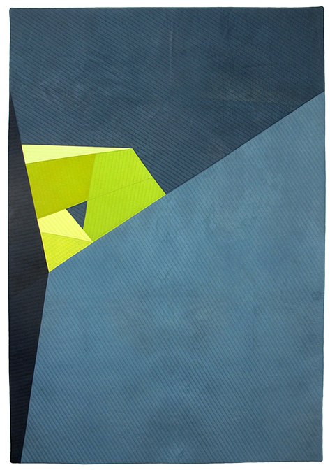 Statement - My work is essentially an exploration of hard-edge abstraction. Leaning toward minimalism, I find satisfaction in paring down my compositions. Each composition is a visual haiku with every shape and color playing a part. Nothing is extraneous.The bends and folds of my recent work are reminiscent of Origami. Value is used to create a structural impression, resulting from a consideration of how light reflects off surfaces. The sculptural environment allows space for the unexpected to happen. Ordinary edges and nooks become interesting.