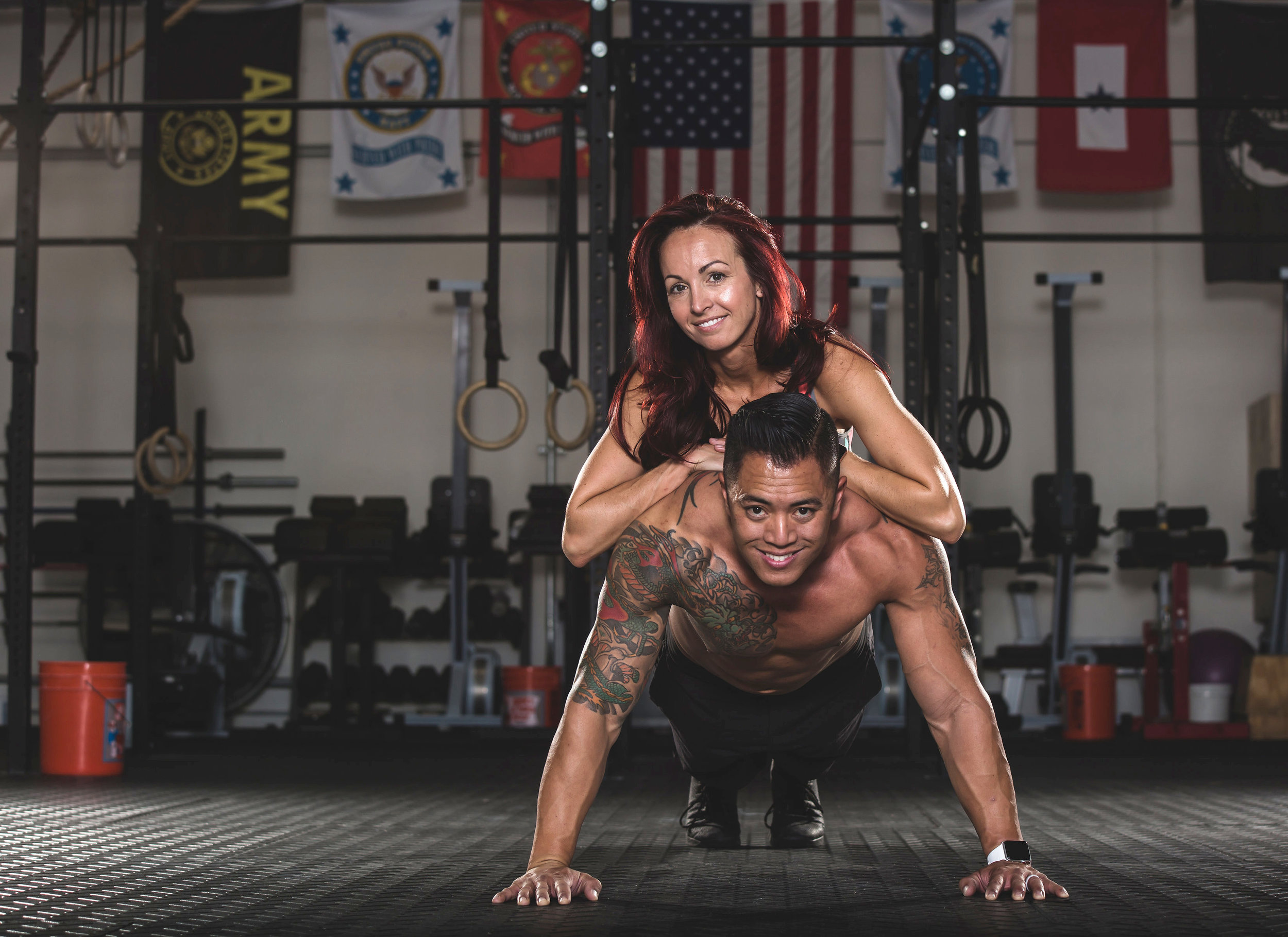"ABOUT US - Coaches Josh & Tonya will help prepare a week-by-week plan to help you get closer to the goals that you choose, not goals that someone else sets for you.Whether your ideal ""you"" is leaner, buffer, faster, stronger, or anything that you've had a hard time achieving on your own, we'll prescribe a specific set of macronutrients and maybe some workouts that will get you to where you want to go."