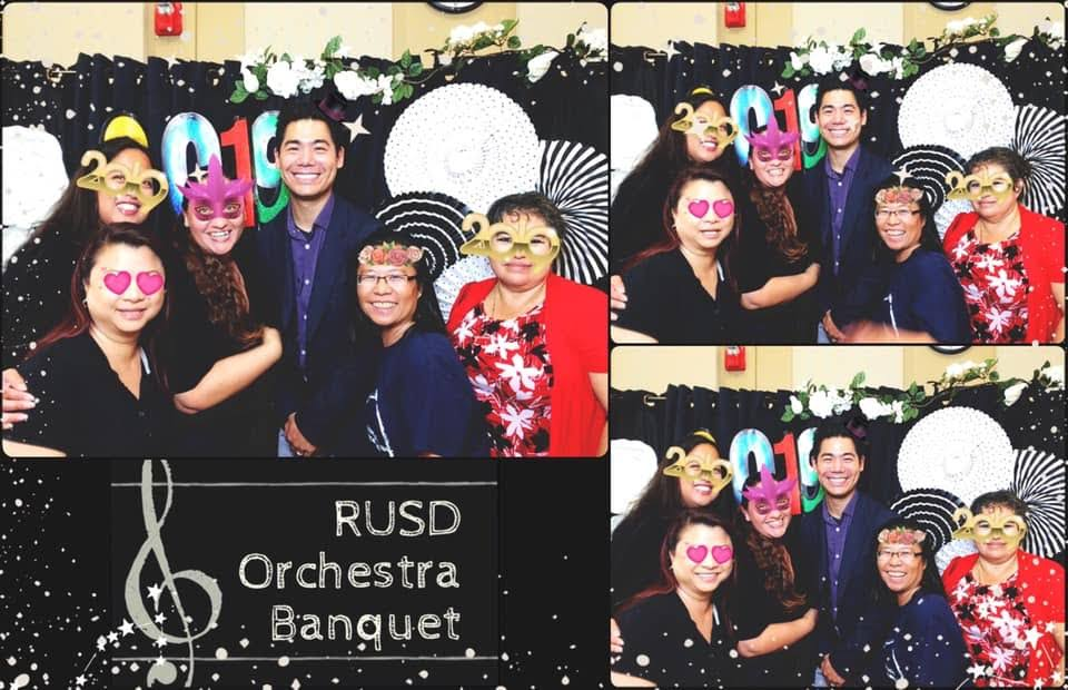 High School Orchestra Banquet 2018-2019 Photo-booth