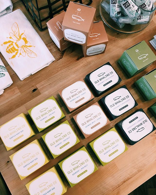 @oldwhalingco has been a HUGE hit! Prepping for a reorder for those who have completely fallen in love with the product like we have! #livewellstl #stllocal #universitycitymo #pharmacy #kismetstl #summer #oldwhalingcompany #soap #oldfashion