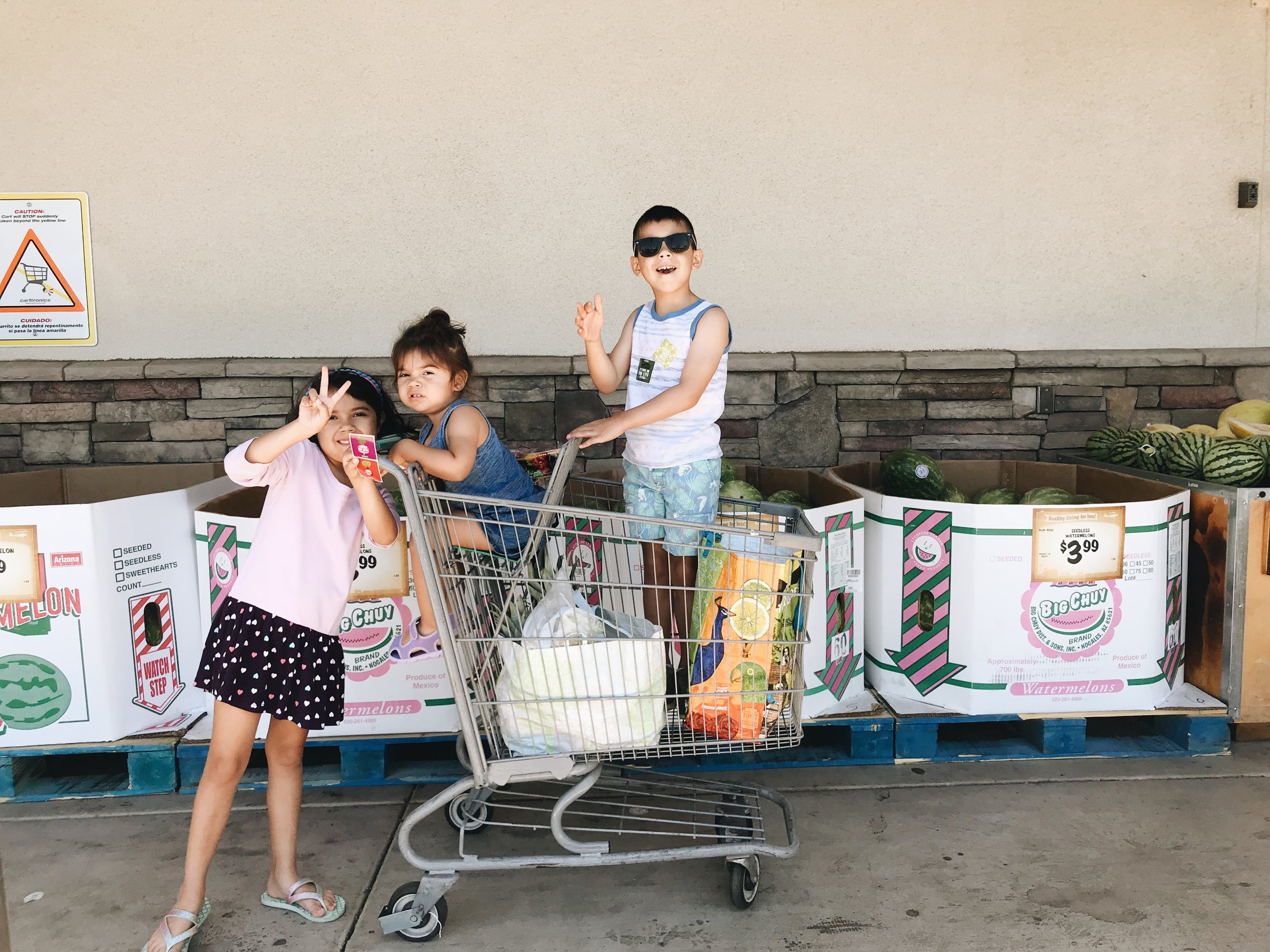 SHOPPING AT SPROUTS WITH KIDS