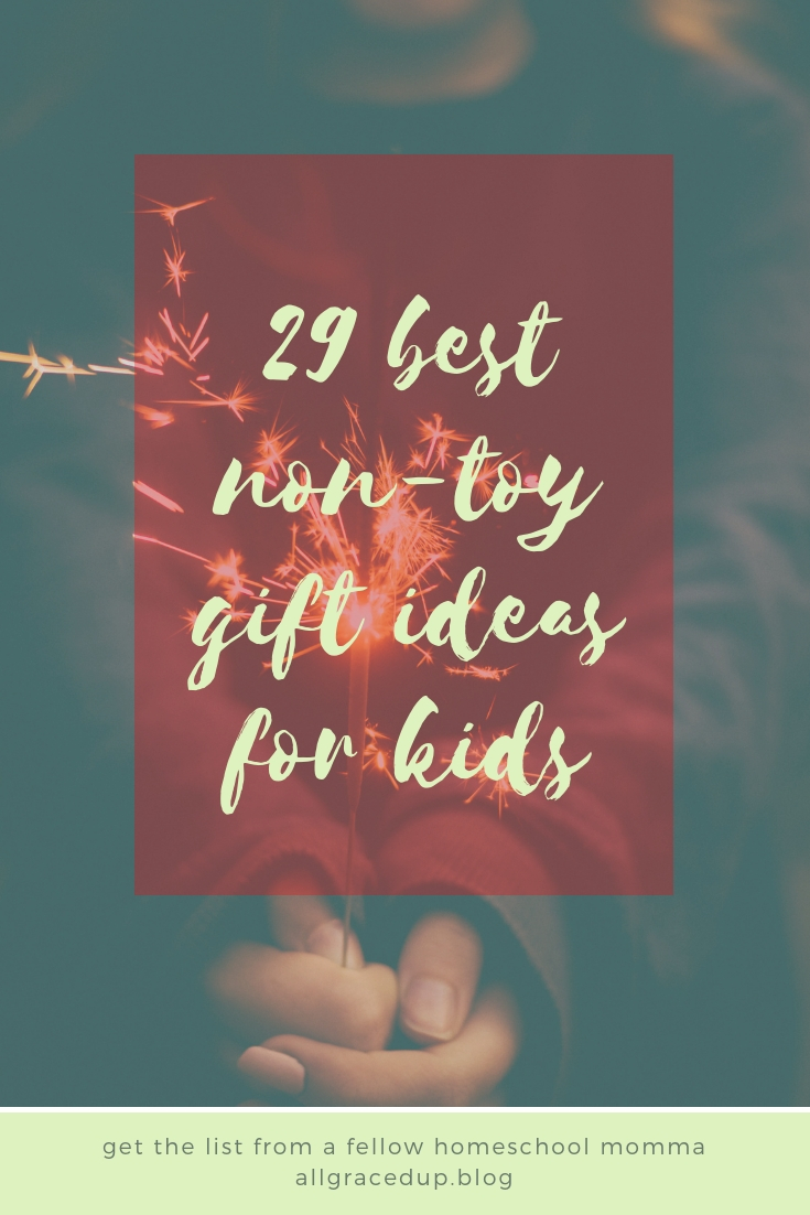 best non toy Christmas gifts for kids