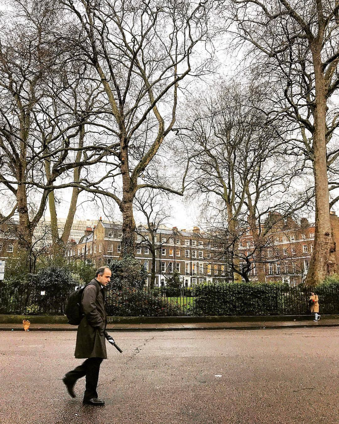 """No winter lasts forever; no spring skips its turn.""  Hal Borland (1900-1978), American author and naturalist   -  #unitedkingdom #england #london #bringyourumbrella  (at Marylebone London)"