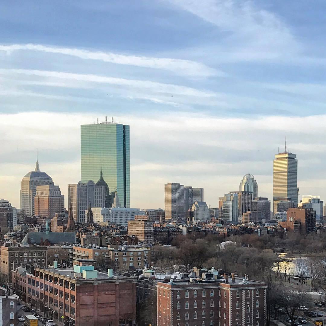 Boston's Back Bay.  -  #massachusetts #boston #masshole #oldstompinggrounds  (at Boston, Massachusetts)
