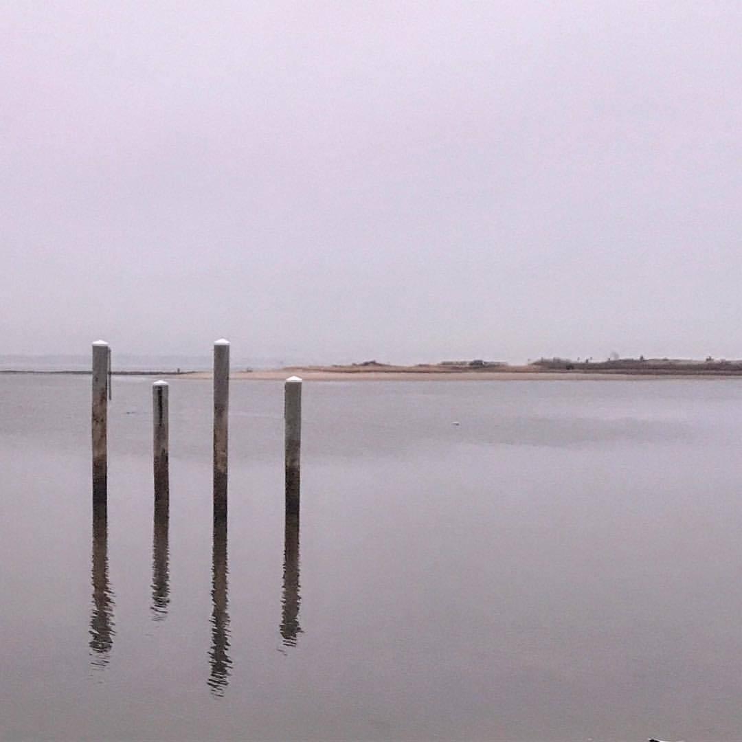 Winter reflections.  -  #massachusetts #capecod #awaitingtheangels  (at Osterville, Massachusetts)