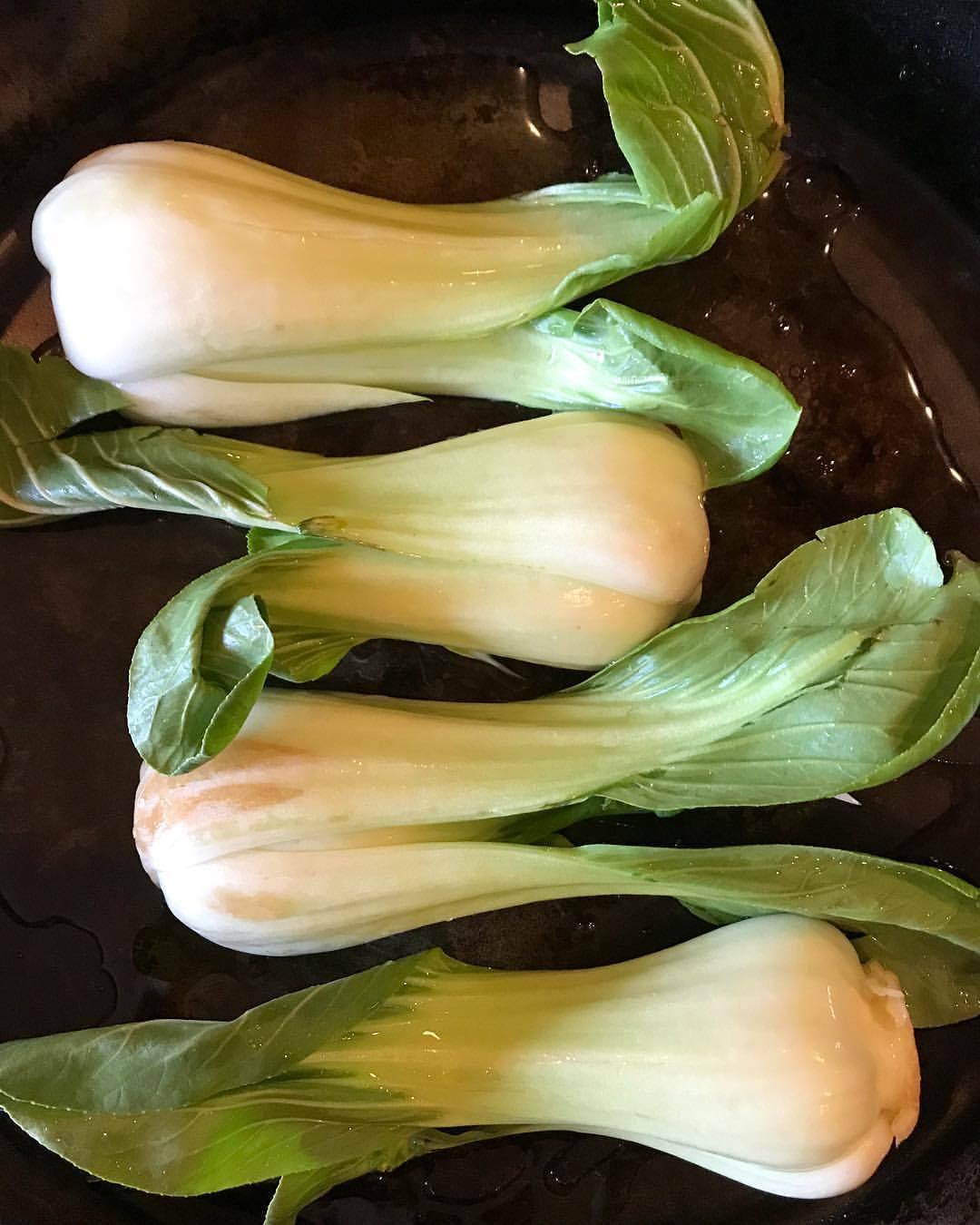 Bok Choy.  -  #vegetables #castironcooking  (at At Home in Napa)