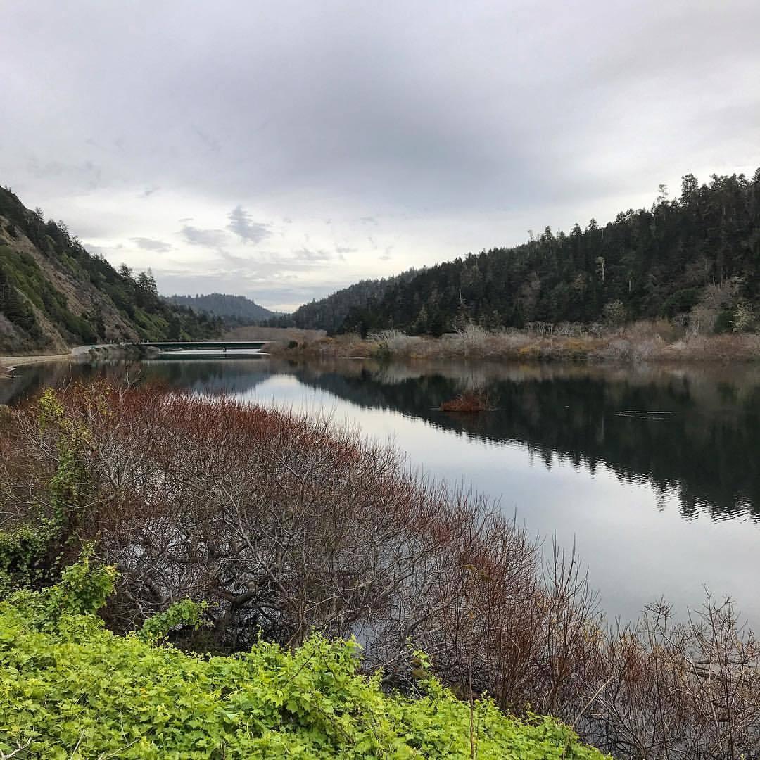 Navarro River.  -  #california #ilovecalifornia #mendocino #winter  (at Navarro, California)