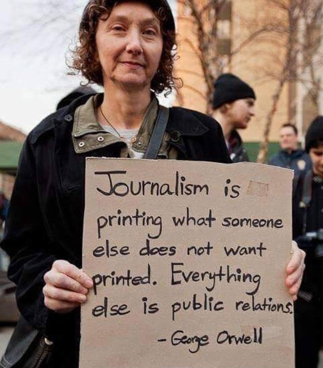 #democracydiesindarkness #allthenewsthatsfittoprint #guardianwitness #firstamendment