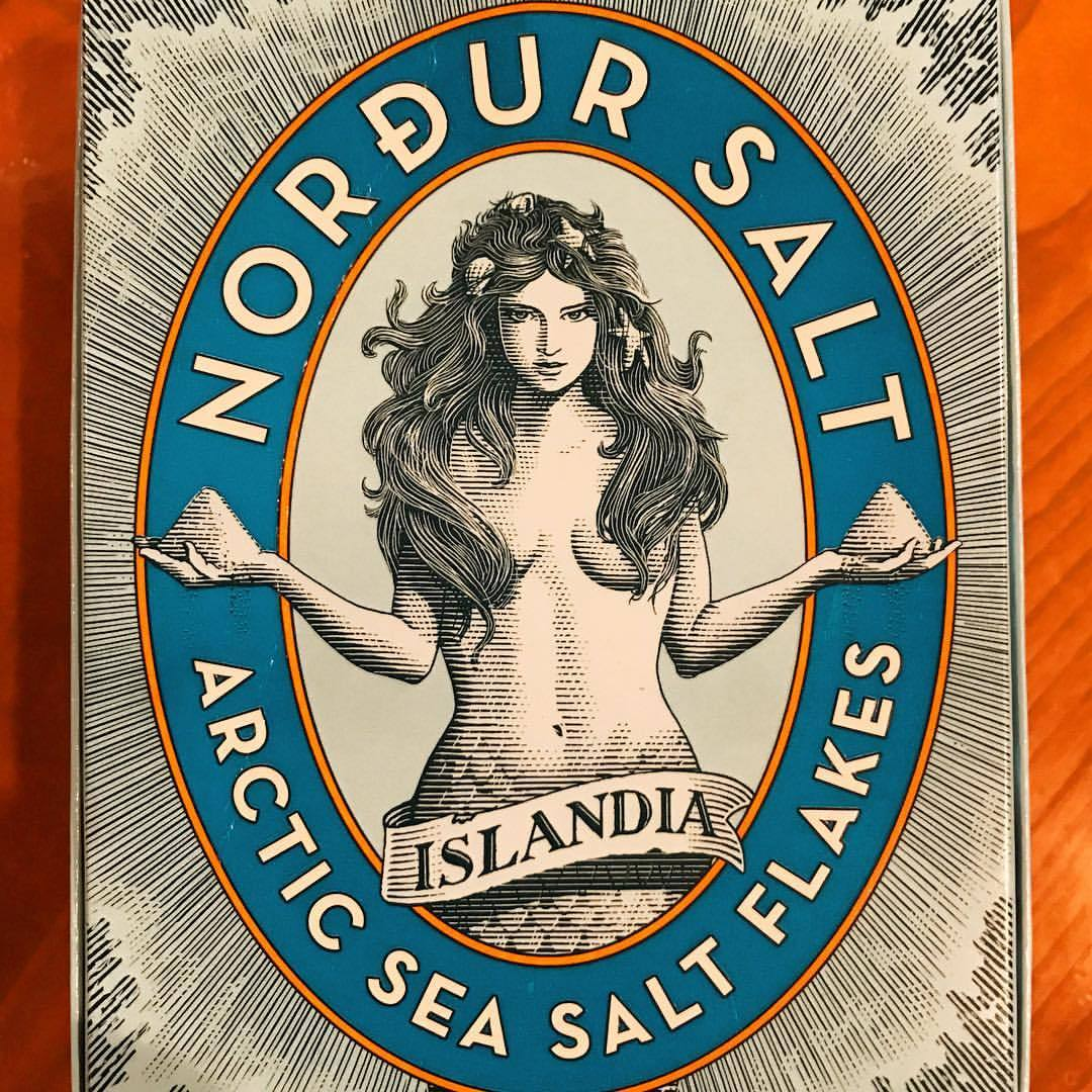 …and the salt's good, too…  -  #nordursalt #saltfreak #carrysaltinmypurse (at At Home in Napa)