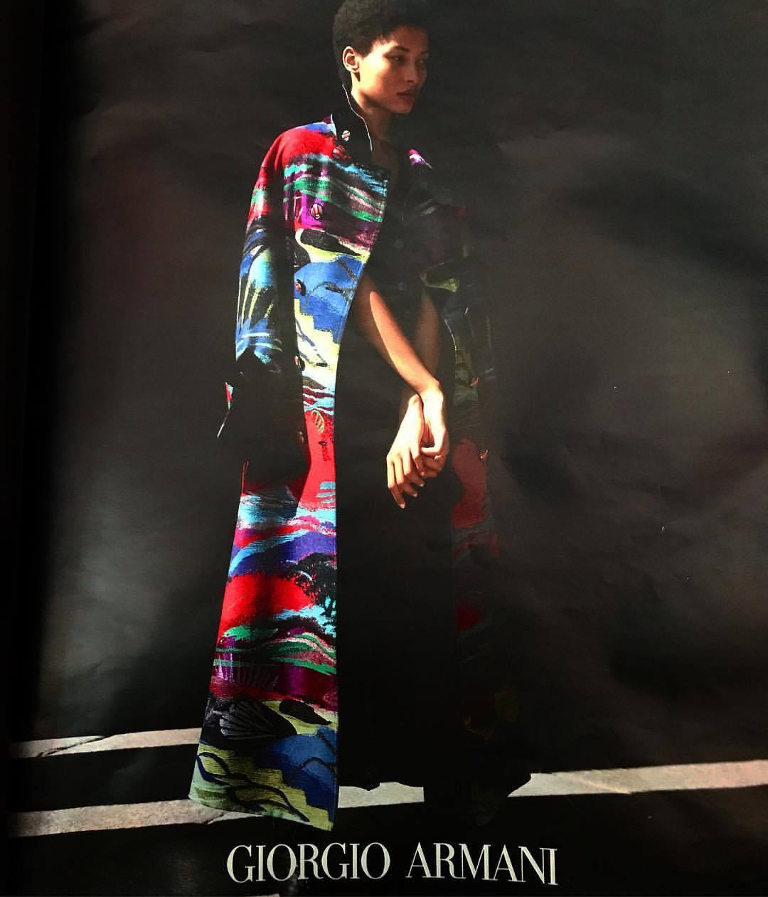 Hot coat.  -  #armani #italy #italiandesign