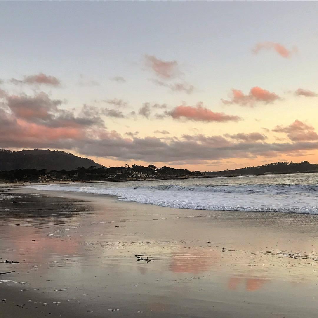 Residual sunset.  #california #carmelbythesea #sunsetjunkie  (at Carmel by the Sea)
