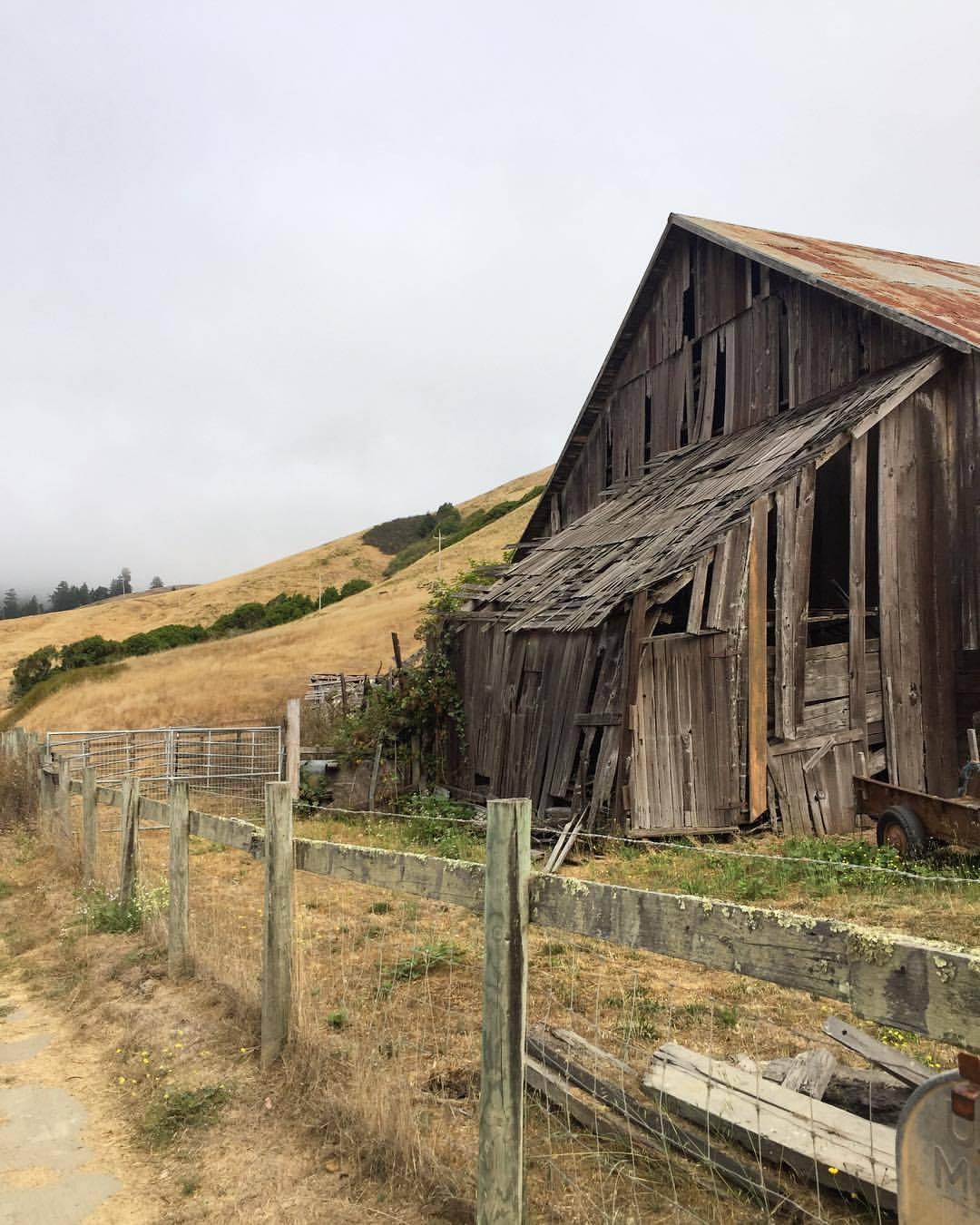 Dreamy dilapidation.  #california #sonoma #sonomacoast  (at Jenner, California)