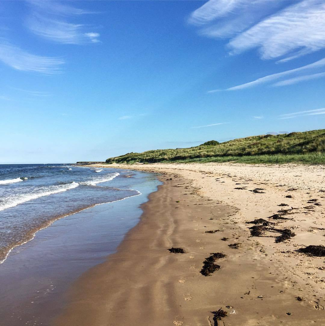 Northumberland coastal trail.  #england #uk #walkingholiday  (at Seahouses Harbour)