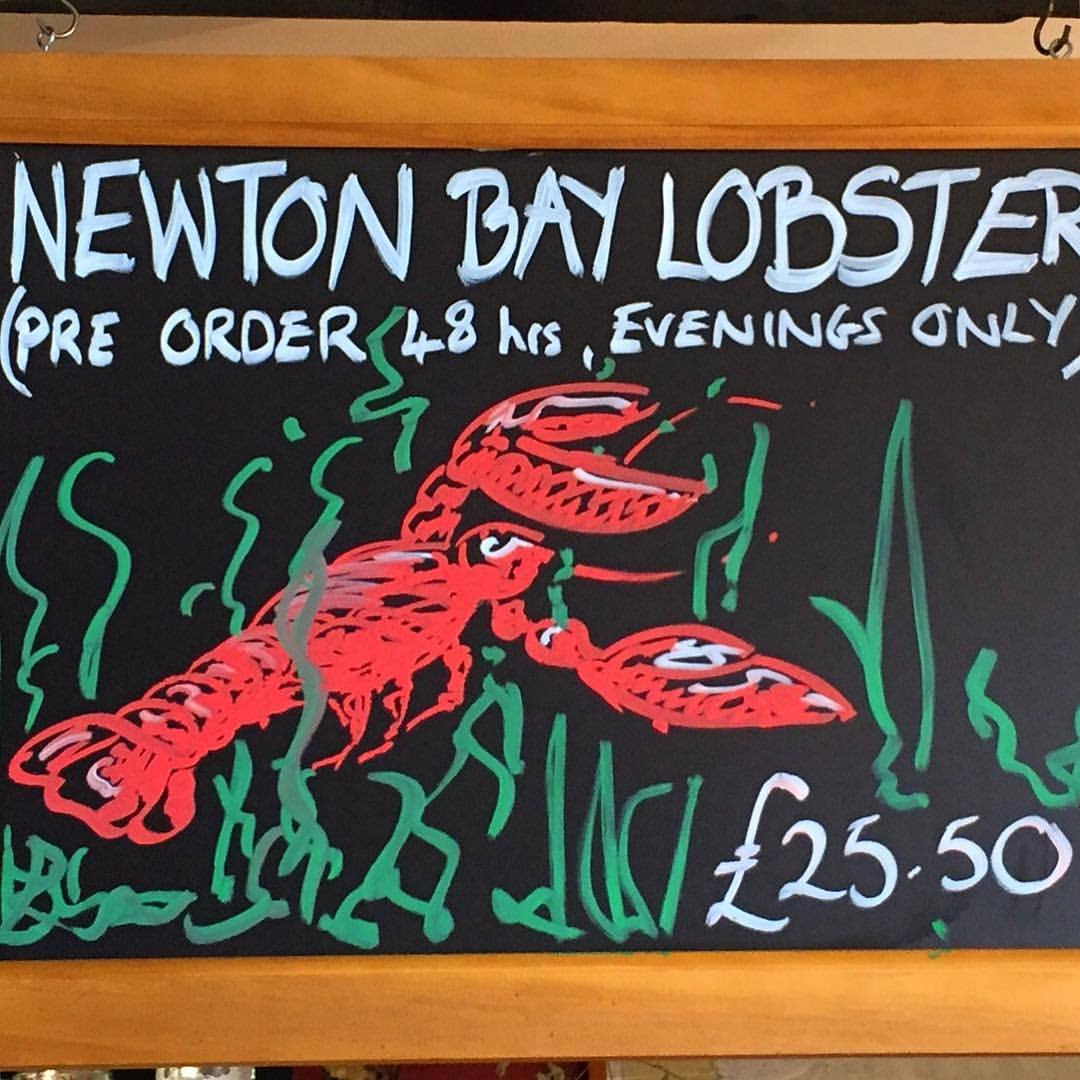 Bring it.  #england #uk #seafood #lobster  (at The Ship Inn, Low Newton)
