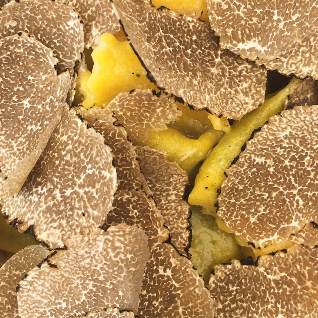 The blacks.  Italy #piedmont #truffles #funghi  (at Trattoria Della Posta)