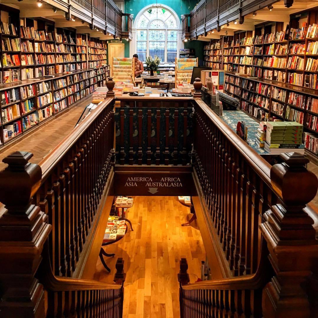Heaven.  #london #bookstore #cityscape  (at Daunt Books)