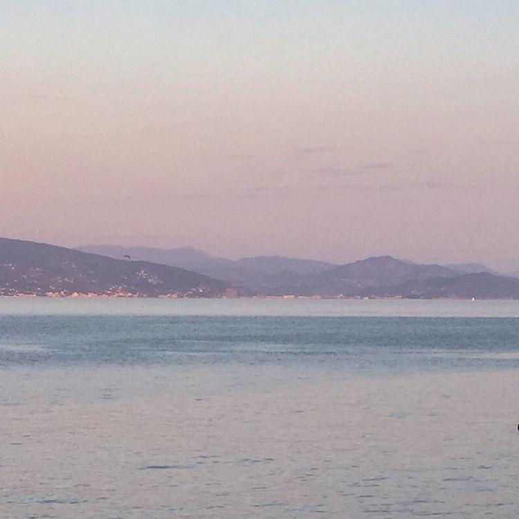 Last light.  #italy #liguria #dusk  (at Santa Margherita Ligure)