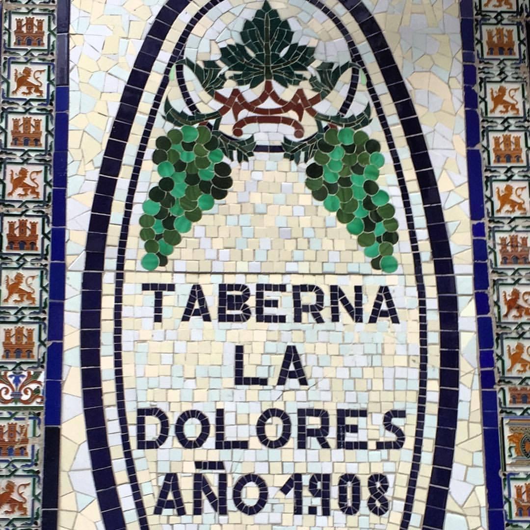 Sherry.  #spain #madrid #tiles #streetart  (at Puerta del Sol Madrid)