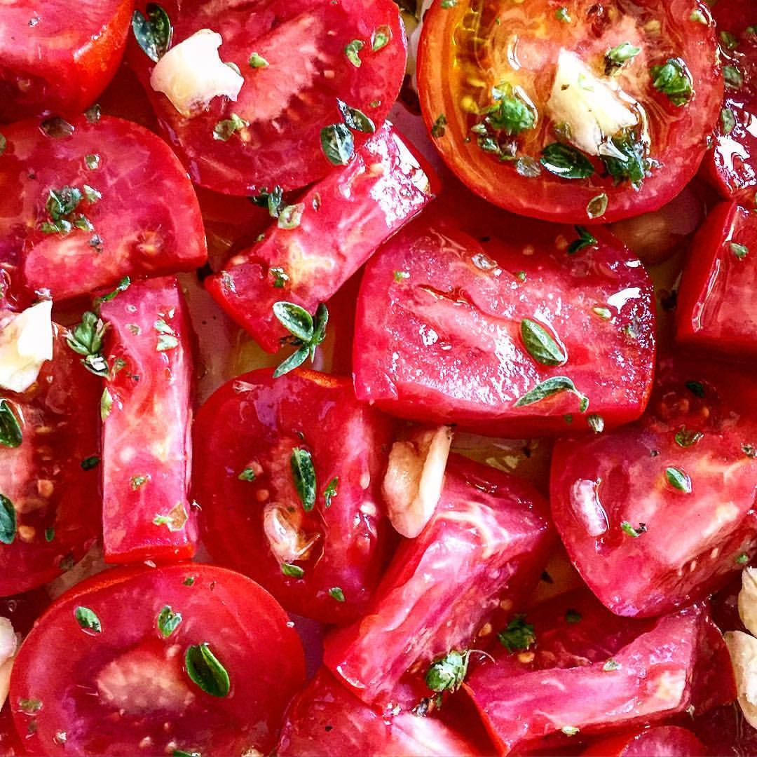 On the horizon:  a six-hour-roasted tomato sauce soon bedazzled with pork and fennel meatballs.