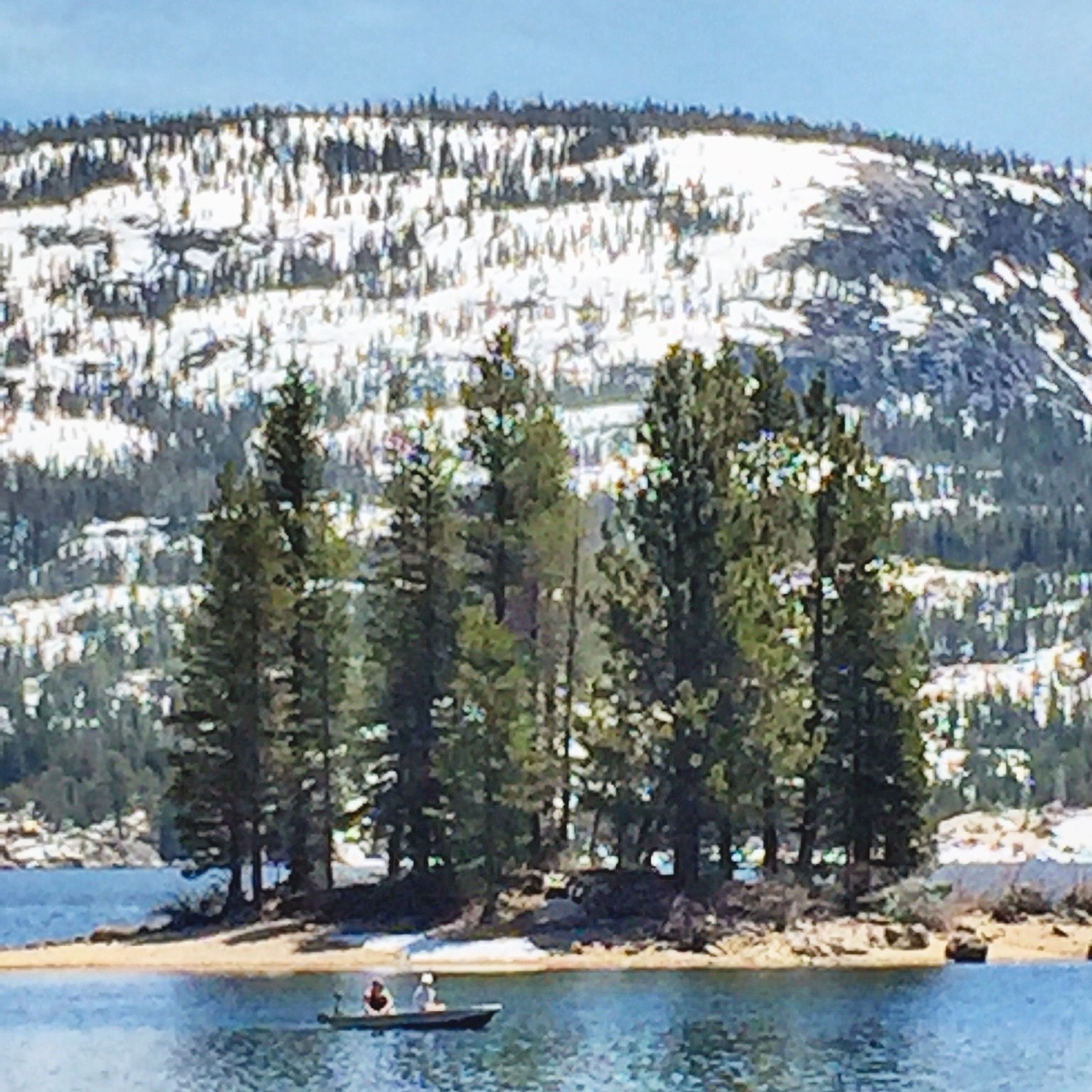 Springtime in the Sierras.