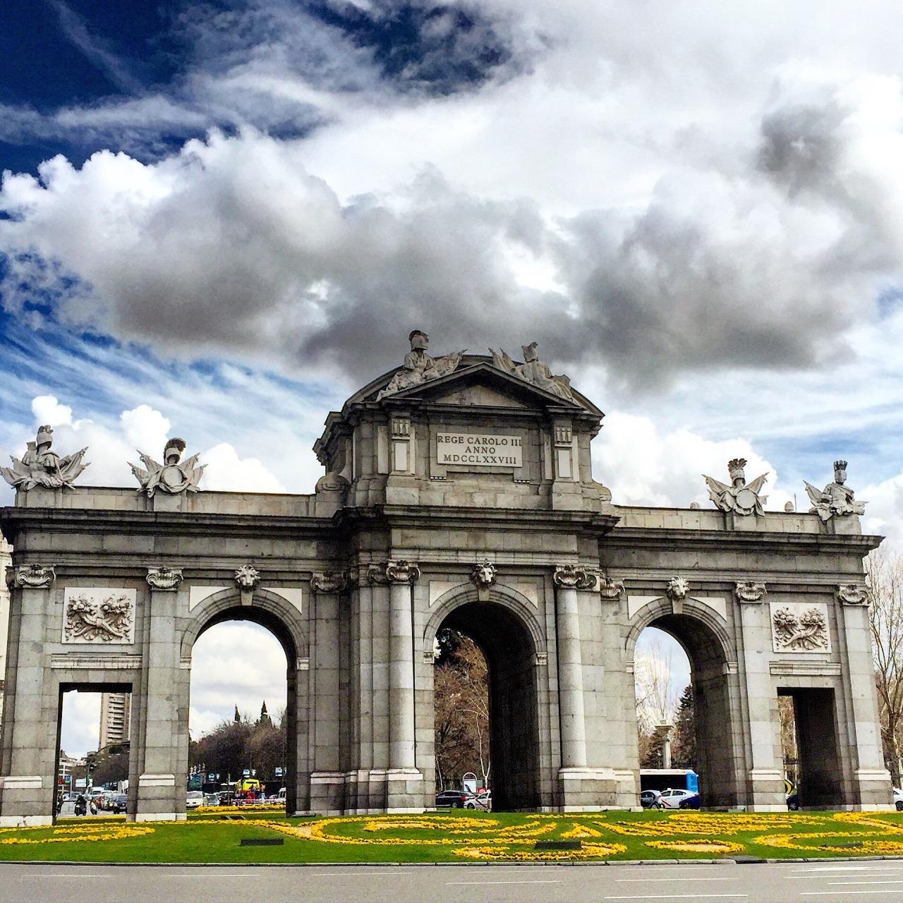 Plaza de la Independencia.  Madrid, Spain.