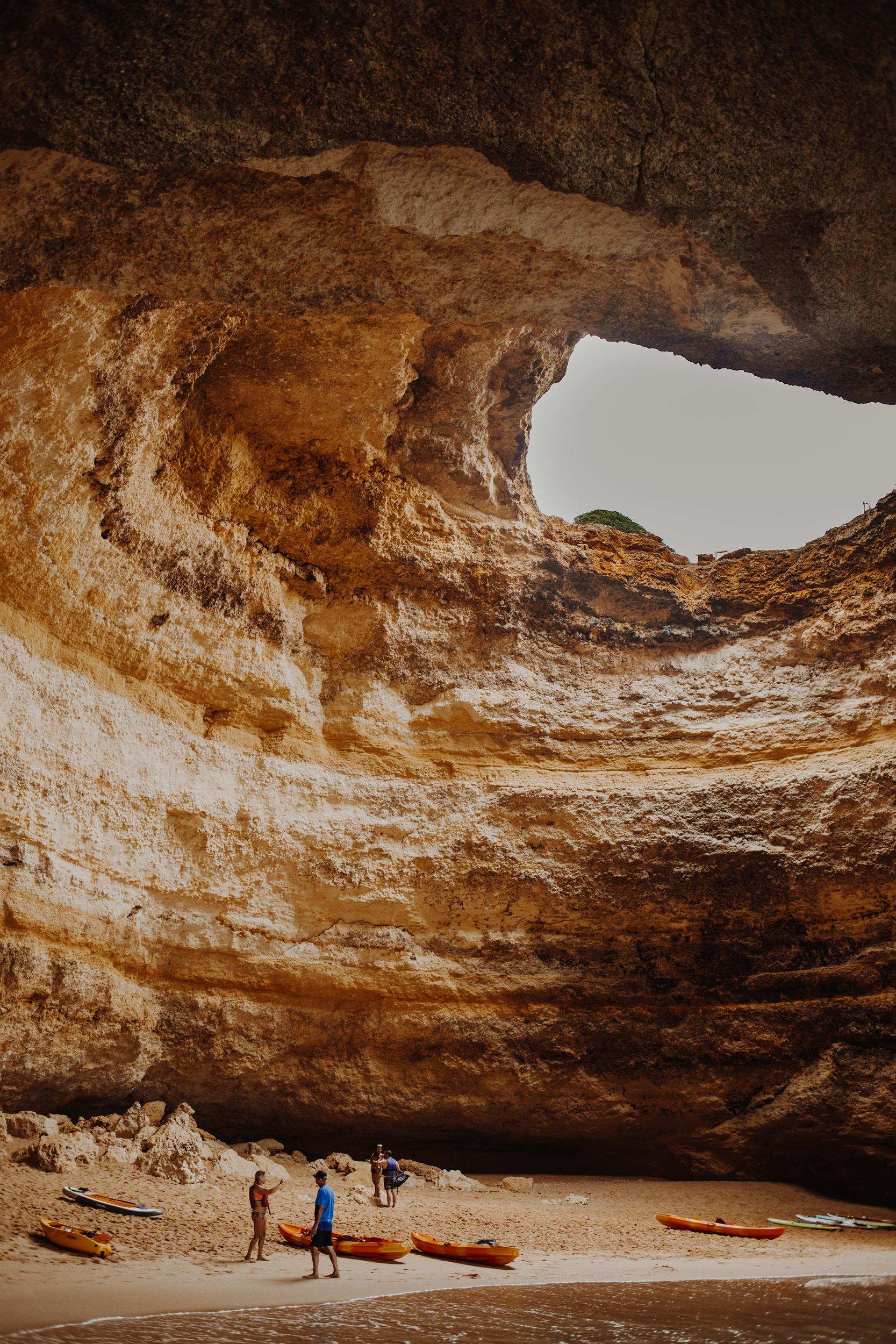 Benagil Caves: Portugal