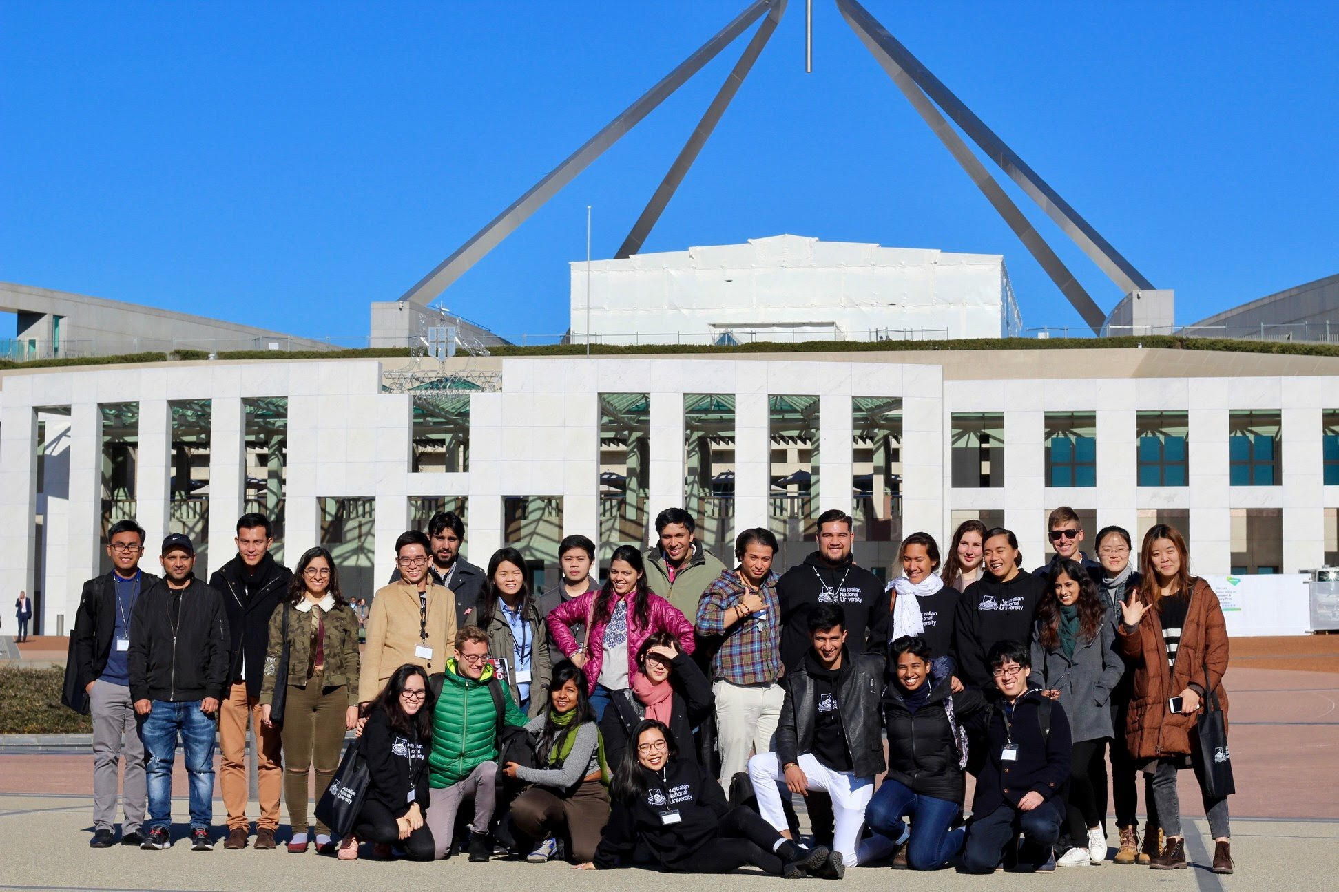 Toli Reupena and Robati Harrison (Pasifika students from the University of Queensland) attending the ANU Asia Pacific Week in Canberra, May 2018. MANA were privileged to support their attendance and know that the experiences and insights gained will be invaluable in these two special students' lives.