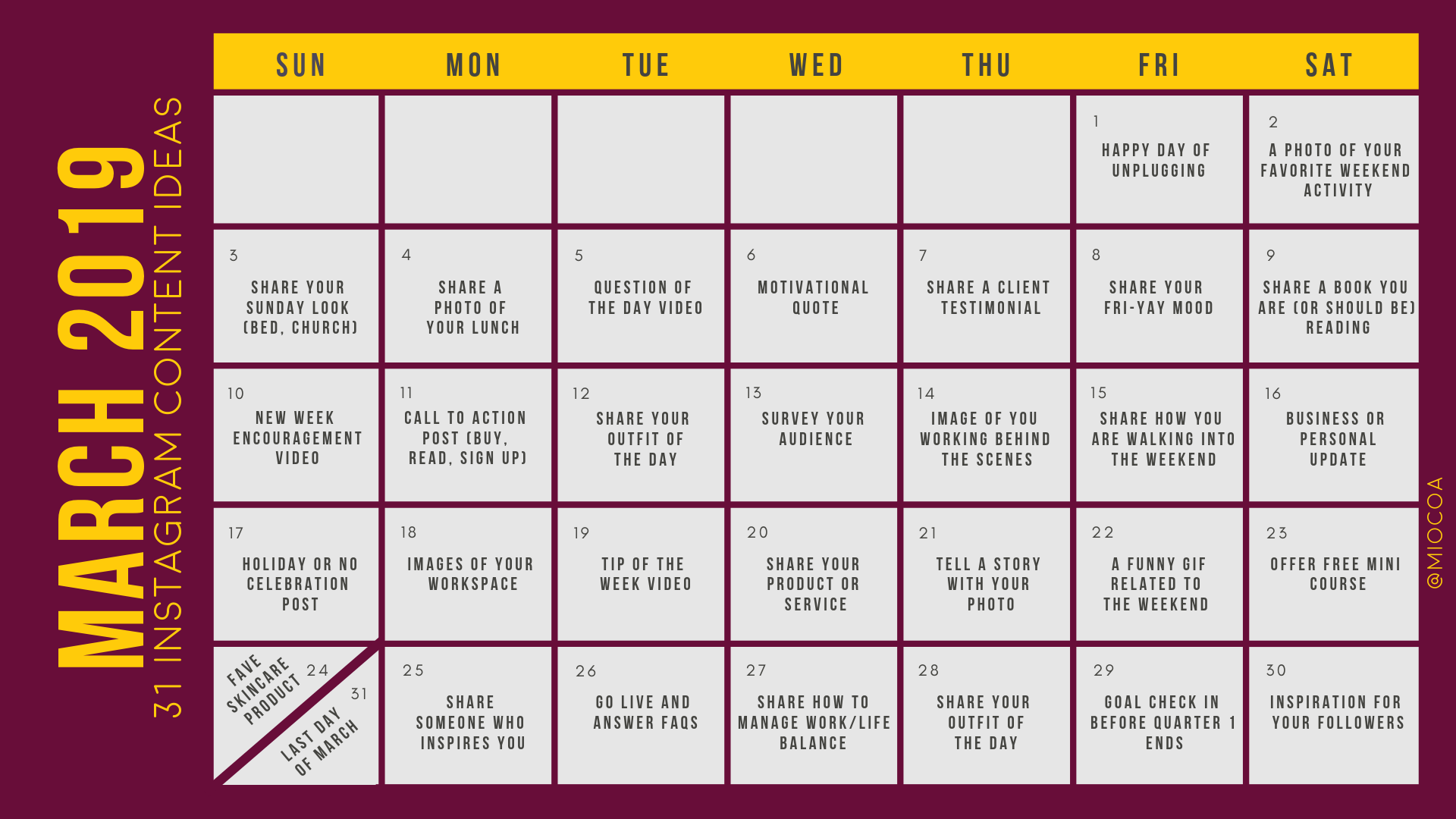 To download the pre-filled content calendar here, just click the image.