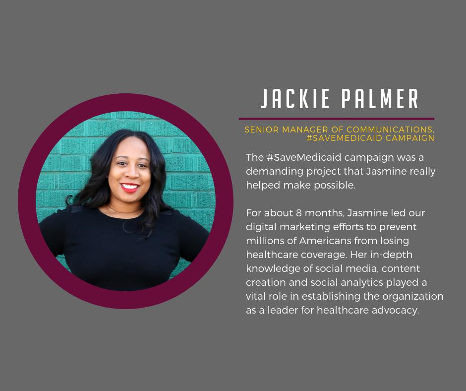 Jackie Palmer Testimonial Miocoa Strategies