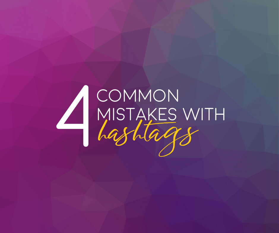 Miocoa Strategies 4 Common Mistakes with Hashtags