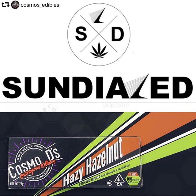 Come #getdialed 😁 #repost @cosmos_edibles ・・・ Happy Days are here again! We will be at Sundialed in Redding @sundial.redding Friday 3-7pm!! Lots of golden tickets have been found so come on down and check out this amazing #dispensary in #norcal !! And if you didn't know about the #goldenticket #nowyouknow * * * * #edibles420 #wildedibles #photooftheday #420life #reddingcalifornia #redding #weededibles #maryjane #cannabis #prop64