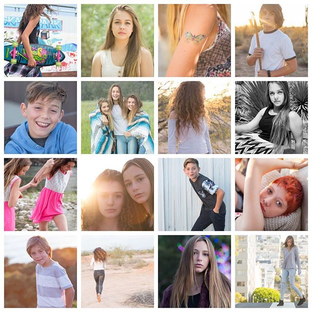 From San Francisco to Phoenix, a little taste of some super fun, fabulous photo shoots! Love you all!#kidsfashion #santabarbaraphotographer #teenfashion #portraitphotography #photography by@reneevernon. @theinstagramexpert