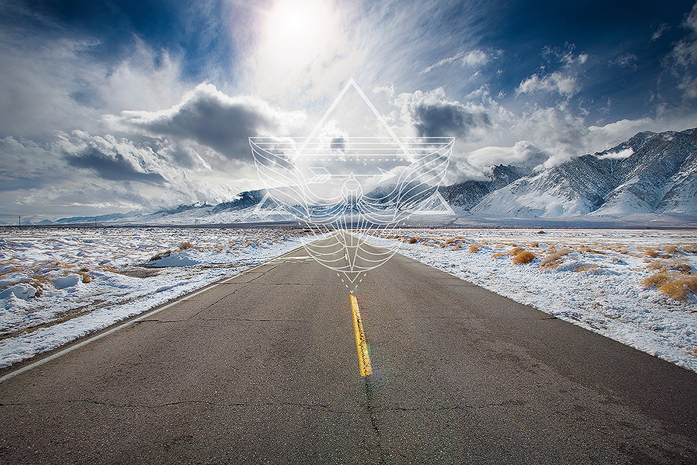 """""""This is my personal """"AWAKEN"""" moment photograph, taken on a road I was traveling down when I turned 40. On this road began a whole new journey; it's when I decided to start honoring my dreams..."""" – Renée Vernon"""