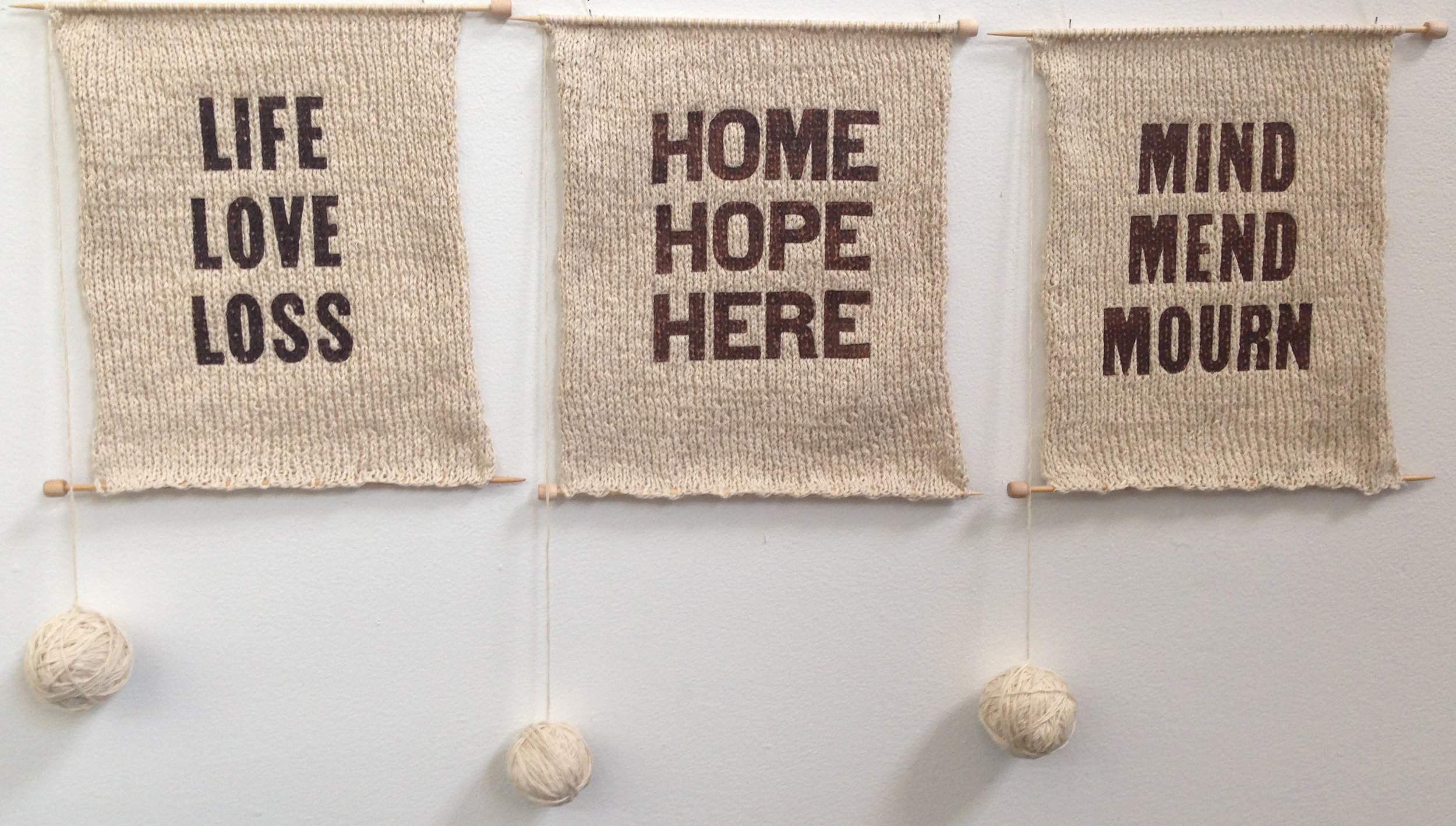 knitted samplers